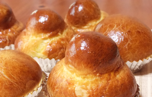 簡単手作りパン「ブリオッシュ」レシピ