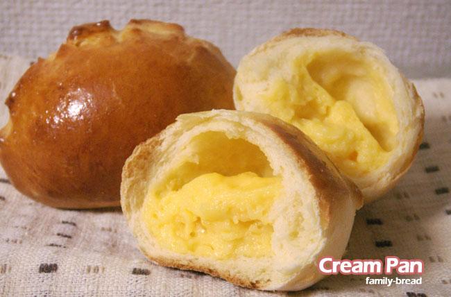 簡単手作りパン「クリームパン」レシピ